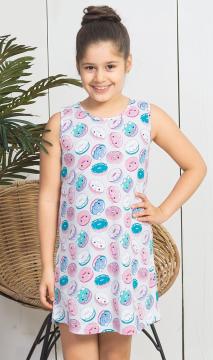 Dětská noční košile na ramínka Donut