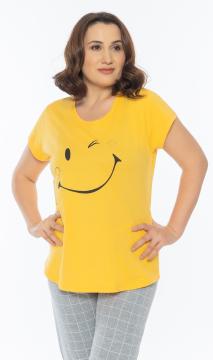 Dámské pyžamo kapri Smile