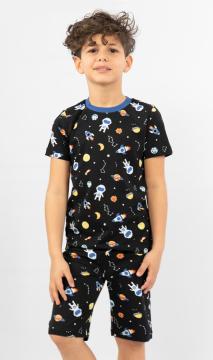Dětské pyžamo šortky Vesmír