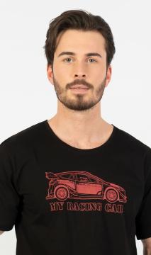 Pánské pyžamo šortky My racing car