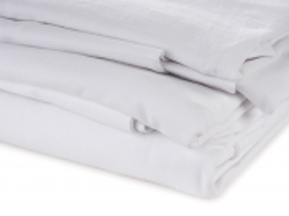 Jersey prostřihy 1 kg bílé malé