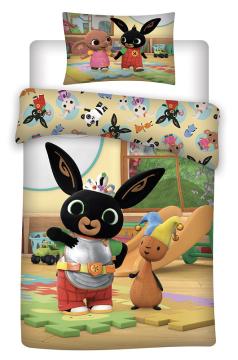 Disney povlečení do postýlky Králíček Bing 052 baby 100x135, 40x60 cm