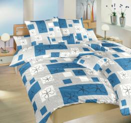 Povlečení bavlna Gobelín modrý 140x200, 70x90 cm