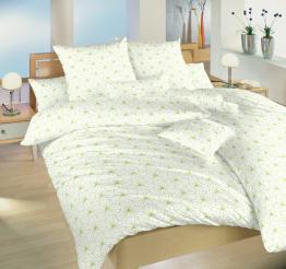 Povlečení bavlna Krystal kiwi na bílém 140x200, 70x90 cm
