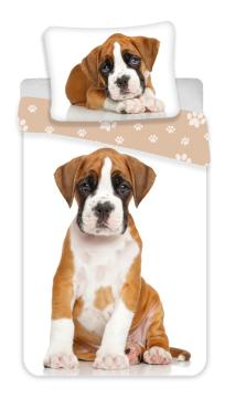 Povlečení fototisk Dog brown 140x200, 70x90 cm