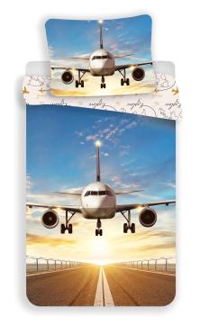 """Povlečení fototisk Letadlo """"Explore the world"""" 140x200, 70x90 cm"""
