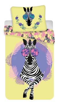 Povlečení fototisk Zebra 140x200, 70x90 cm