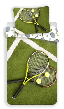 Povlečení fototisk Tenis 140x200, 70x90 cm