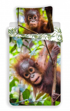 Povlečení fototisk Orangutan 02 140x200, 70x90 cm