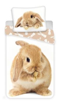 Povlečení fototisk Bunny brown 140x200, 70x90 cm