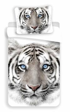 Povlečení fototisk White Tygr 140x200, 70x90 cm