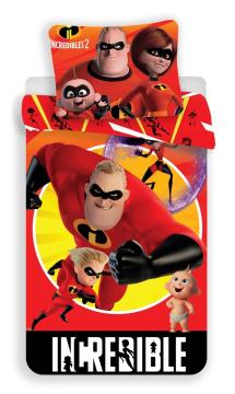 Povlečení Incredibles 02 140x200, 70x90 cm