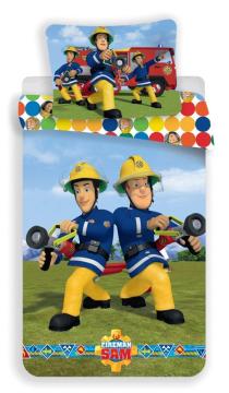 Povlečení Požárník Sam colors 140x200, 70x90 cm