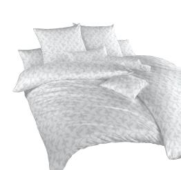 Povlečení damašek Rokoko šedé 140x220, 70x90 cm