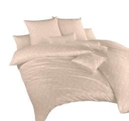 Povlečení damašek Rokoko béžové 40x40 cm povlak