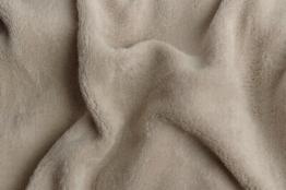 Prostěradlo mikroflanel kikko šedé 90x200x20 cm