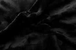 Prostěradlo mikroflanel černá 90x200x20 cm