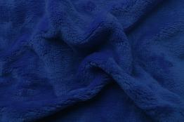 Prostěradlo mikroflanel tmavě modrá 180x200x20 cm