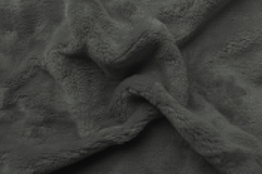 Prostěradlo mikroflanel tmavě šedá 90x200x20 cm