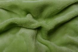 Prostěradlo mikroflanel kiwi (zelená) 90x200x20 cm