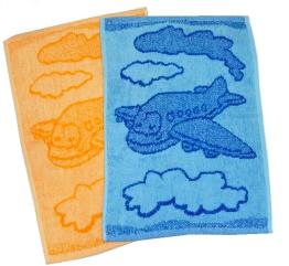 Dětský ručník Plane orange 30x50 cm