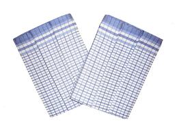 Utěrka Bambus 50x70 Kostka malá modrá balení 3 ks