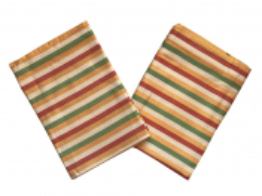 Utěrky Bambus 50x70 cm Pruh žlutý 3 ks