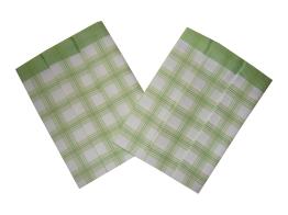 Utěrky Bambus 50x70 cm Kostka velká zelená 3 ks